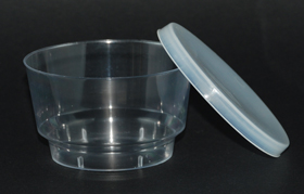 disposable 4 oz cup with lid