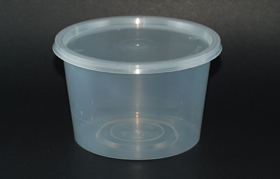 disposable round container 25oz