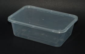 disposable rectangle container 750ml